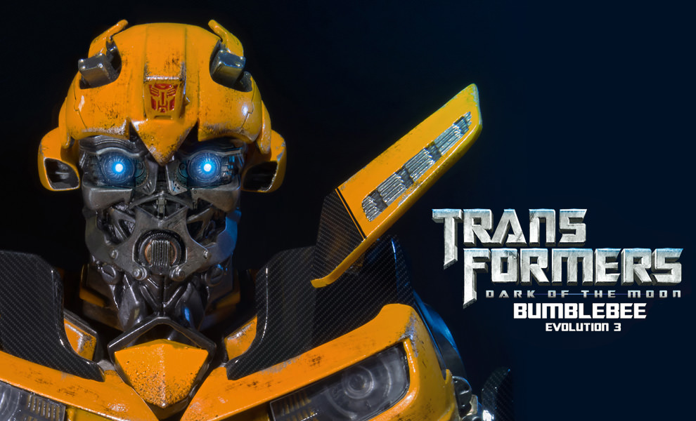 Gallery Feature Image of Bumblebee - Dark of the Moon Bust - Click to open image gallery