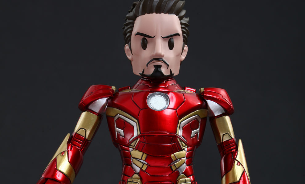 Gallery Feature Image of Tony Stark Mark XLIII Armor Version - Artist Mix Collectible Figure - Click to open image gallery