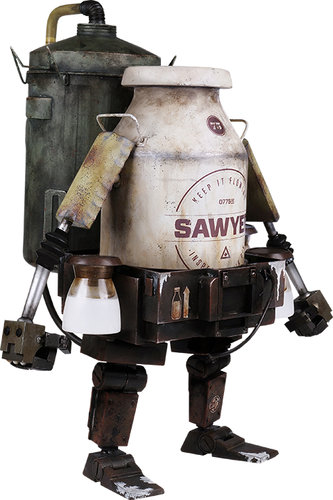 ThreeA Toys Milky Bot Sixth Scale Figure
