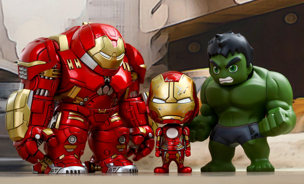 Gallery Feature Image of Avengers Age of Ultron Collectible Set of 3 Collectible Set - Click to open image gallery