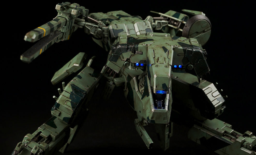 Gallery Feature Image of Metal Gear Rex Collectible Figure - Click to open image gallery