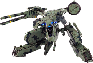 Metal Gear Rex Collectible Figure