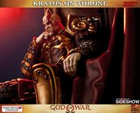 Gallery Image of Kratos on Throne Statue