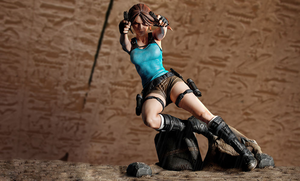 Gallery Feature Image of Lara Croft Temple of Osiris Statue - Click to open image gallery