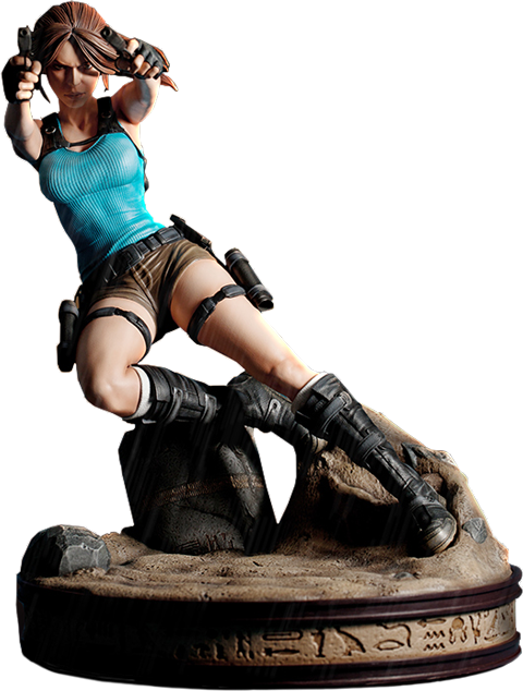 Gaming Heads Lara Croft Temple of Osiris Statue