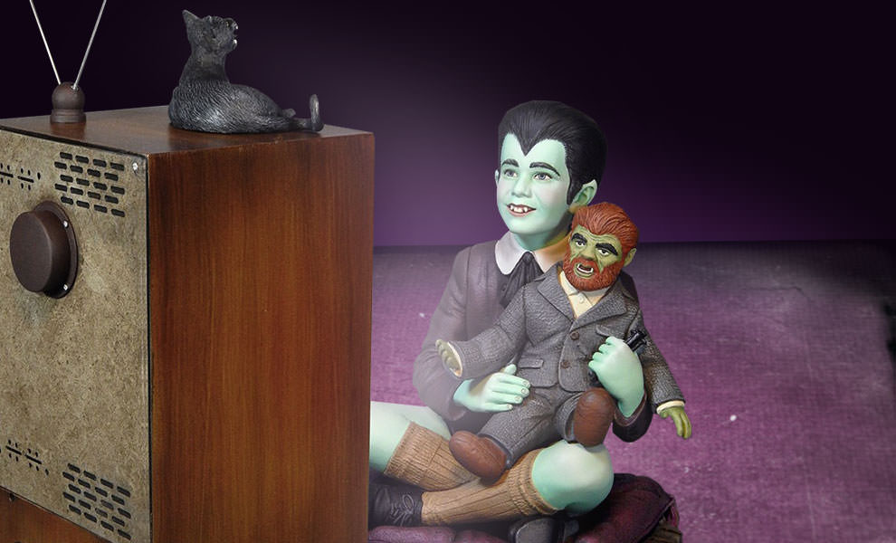 Gallery Feature Image of Eddie Munster and Television Maquette - Click to open image gallery