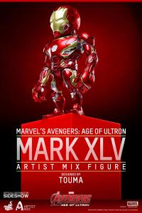 Gallery Image of Iron Man Mark XLV Collectible Figure