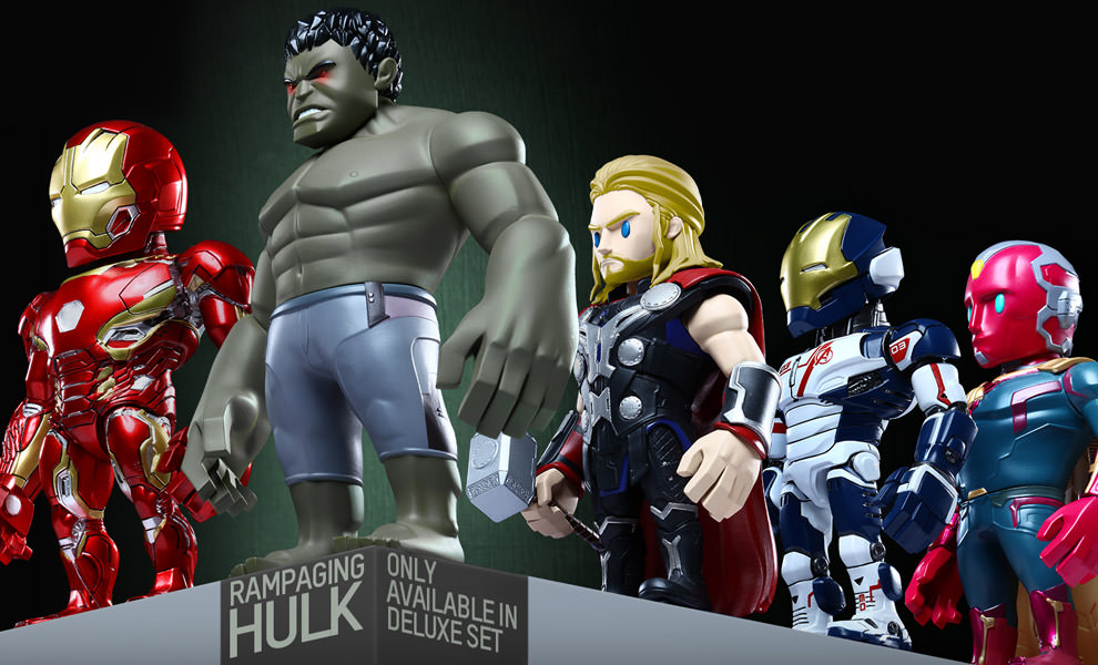 Gallery Feature Image of Avengers Age of Ultron Artist Mix Series 2 Collectible Set - Click to open image gallery