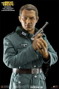Gallery Image of Steve McQueen Capt Virgil Hilts Deluxe Version Sixth Scale Figure