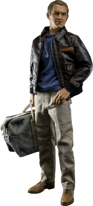 Steve McQueen Capt Virgil Hilts Deluxe Version Sixth Scale Figure