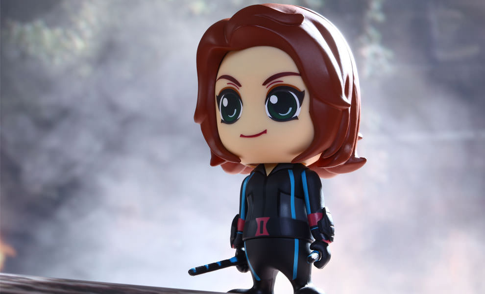 Gallery Feature Image of Black Widow Vinyl Collectible - Click to open image gallery