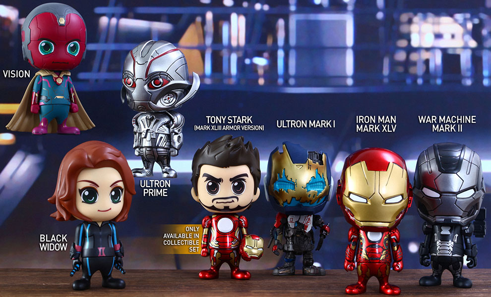 Gallery Feature Image of Avengers Age of Ultron Series 2 Collectible Set Collectible Set - Click to open image gallery