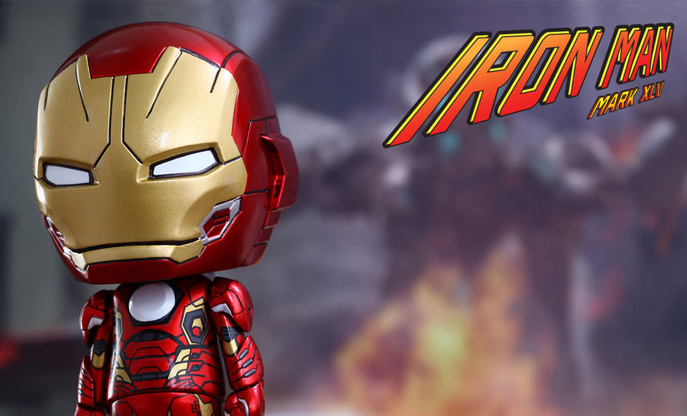 Gallery Feature Image of Iron Man Mark XLV Vinyl Collectible - Click to open image gallery
