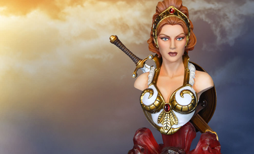 Gallery Feature Image of Teela Quarter Scale Collectible Bust - Click to open image gallery