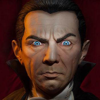 Classic Dracula Life-Size Bust