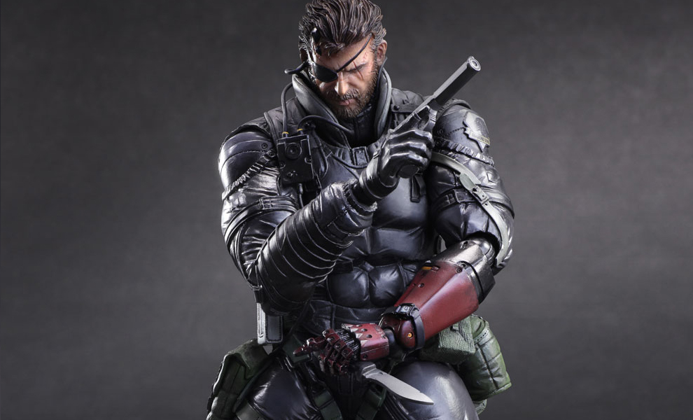 Metal Gear Solid Venom Snake Sneaking Suit Ver Collectible F