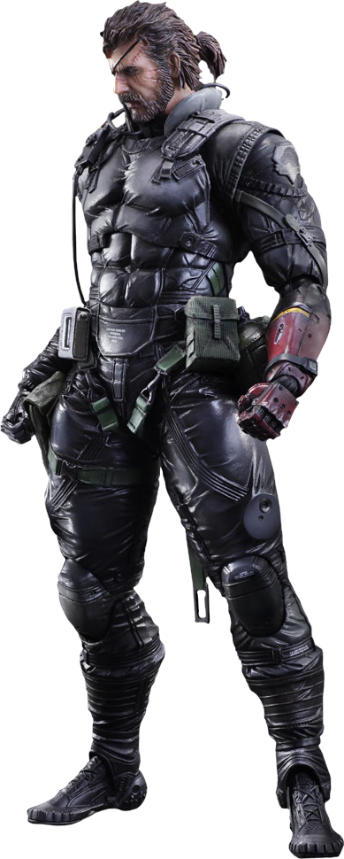 Square Enix Venom Snake Sneaking Suit Ver Collectible Figure