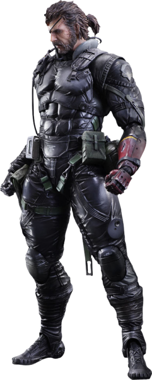Venom Snake Sneaking Suit Ver Collectible Figure