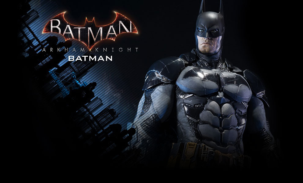 Gallery Feature Image of Batman Polystone Statue - Click to open image gallery