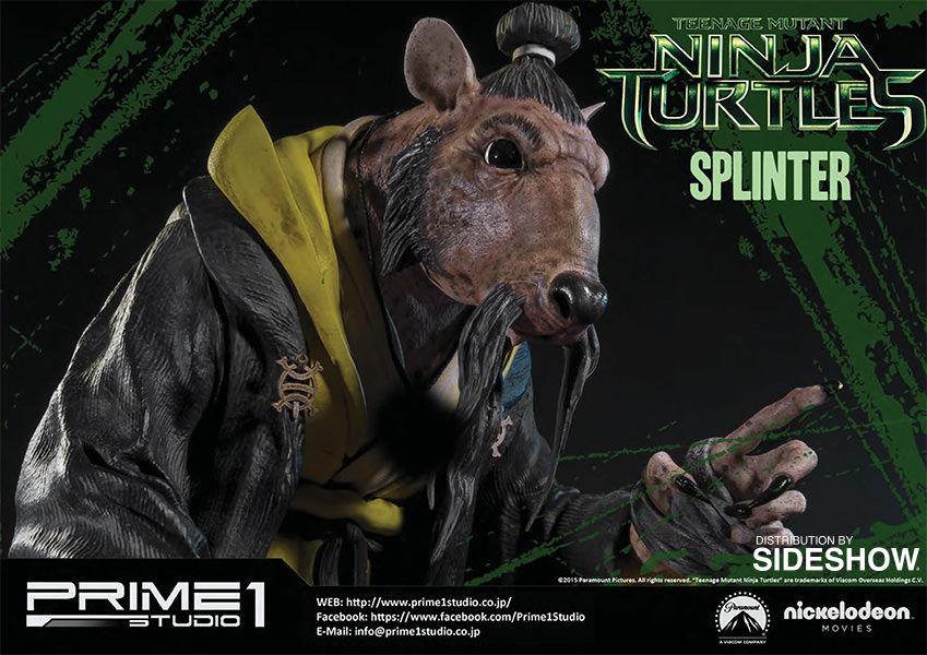 Tmnt Splinter Polystone Statue By Prime 1 Studio Sideshow Collectibles
