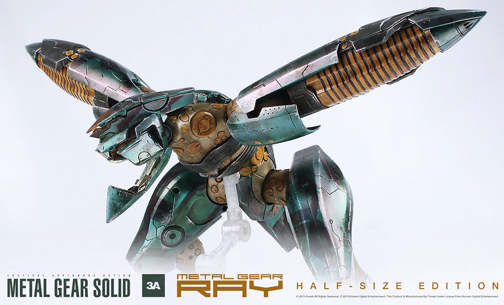 Gallery Feature Image of Metal Gear Ray Collectible Figure - Click to open image gallery