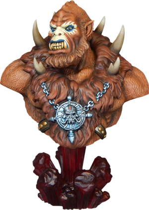 Beastman Collectible Bust