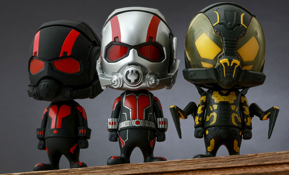 Gallery Feature Image of Ant-Man Collectible Set of 3 Vinyl Collectible - Click to open image gallery