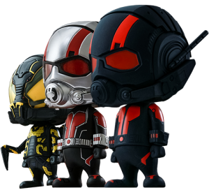 Ant-Man Collectible Set of 3 Vinyl Collectible