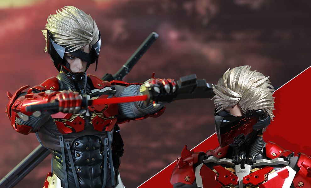 Gallery Feature Image of Raiden Inferno Armor Version Sixth Scale Figure - Click to open image gallery