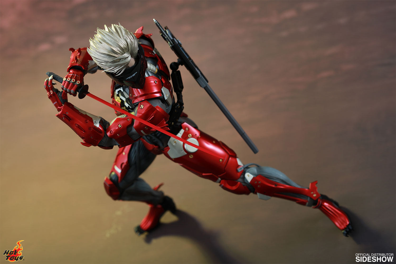 Metal Gear Raiden Inferno Armor Version Sixth Scale Figure b