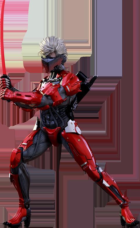 Hot Toys Raiden Inferno Armor Version Sixth Scale Figure