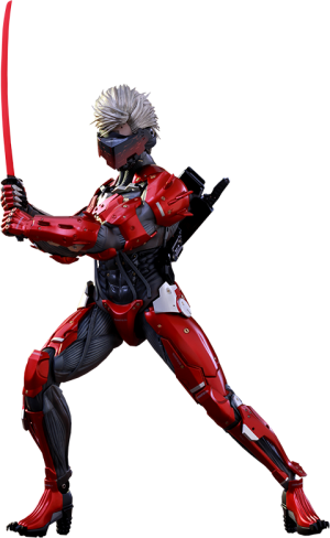 Raiden Inferno Armor Version Sixth Scale Figure