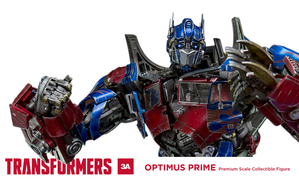 Gallery Feature Image of Transformers Optimus Prime Premium Scale Collectible Figure - Click to open image gallery