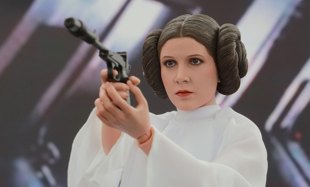 Gallery Feature Image of Princess Leia Sixth Scale Figure - Click to open image gallery