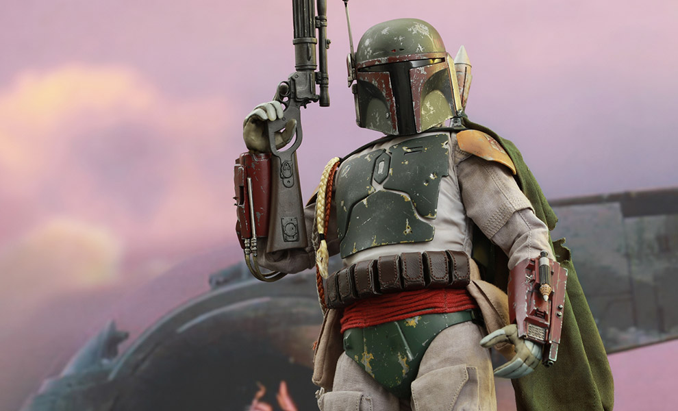 Gallery Feature Image of Boba Fett Sixth Scale Figure - Click to open image gallery