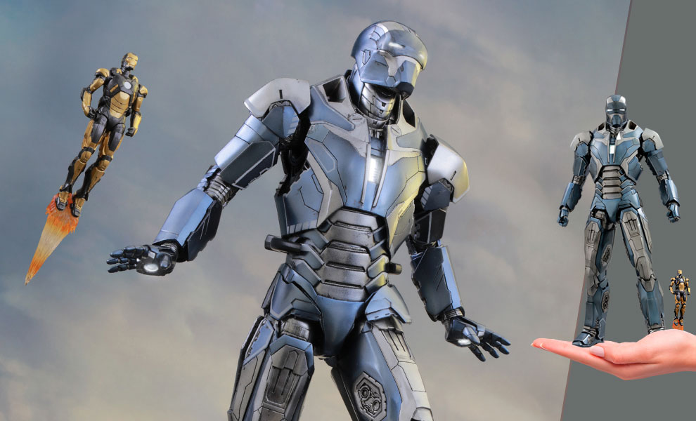 Gallery Feature Image of Iron Man Mark XL - Shotgun Sixth Scale Figure - Click to open image gallery