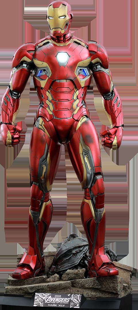 Hot Toys Iron Man Mark XLV Quarter Scale Figure