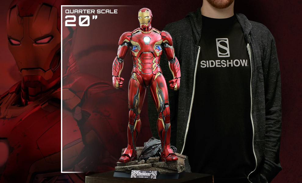 Gallery Feature Image of Iron Man Mark XLV Quarter Scale Figure - Click to open image gallery