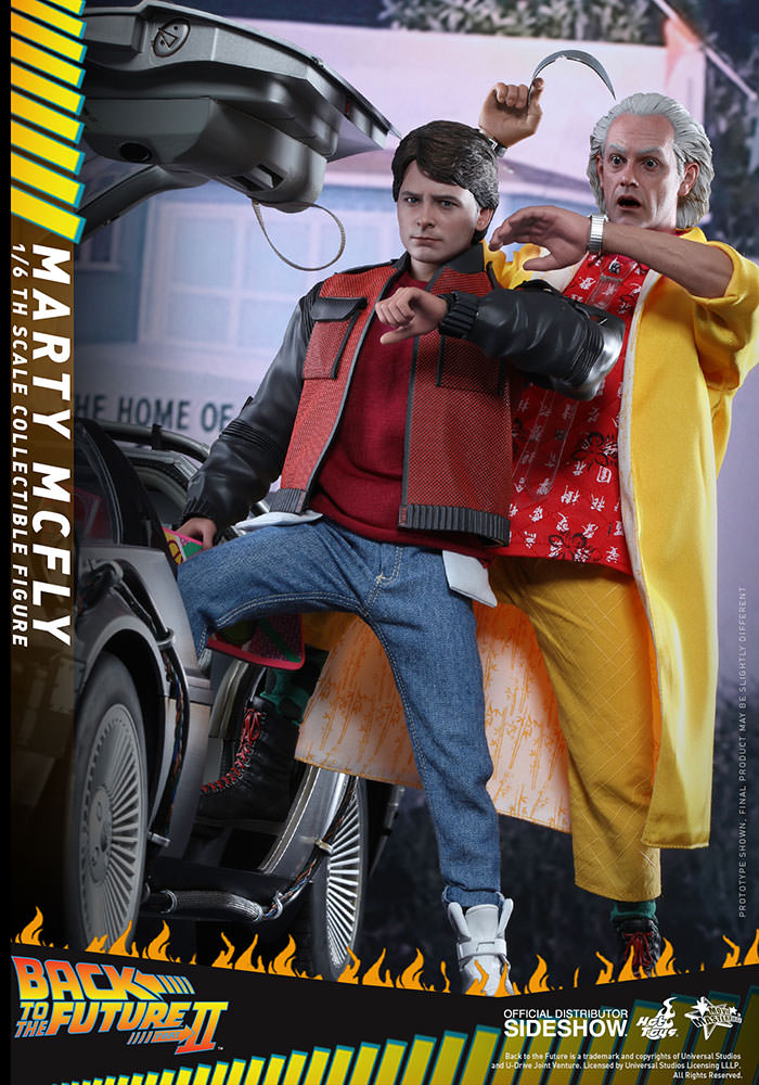 Back to the Future Marty McFly Sixth Scale Figure by Hot Toy
