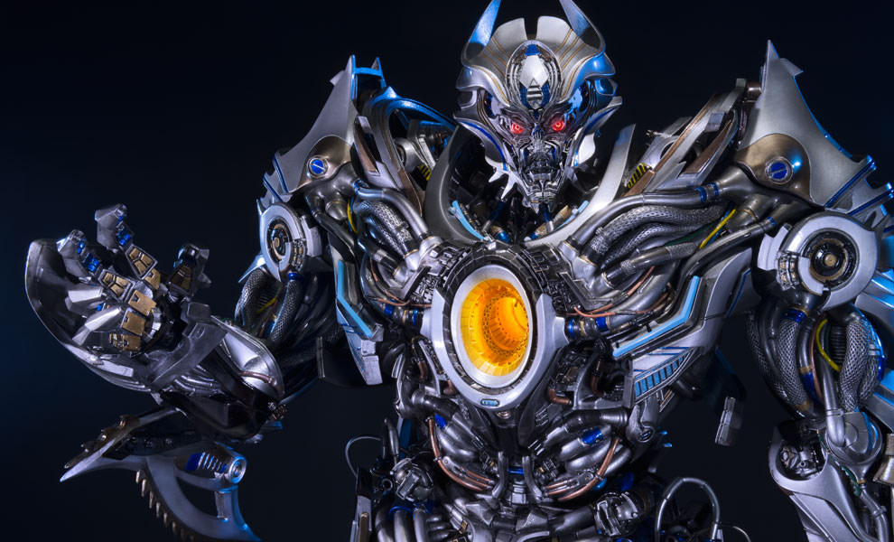 Gallery Feature Image of Galvatron Polystone Statue - Click to open image gallery