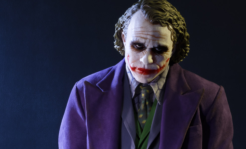 Gallery Feature Image of The Joker Polystone Statue - Click to open image gallery