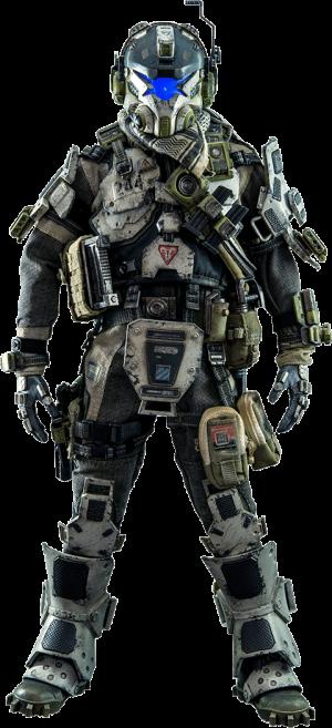 IMC Battle Rifle Pilot Sixth Scale Figure