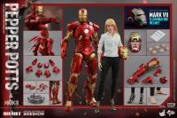 Gallery Image of Pepper Potts and Mark IX Sixth Scale Figure