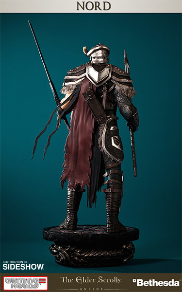 The Elder Scrolls Online Nord Statue By Gaming Heads Sideshow