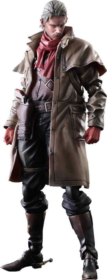 Square Enix Ocelot Collectible Figure