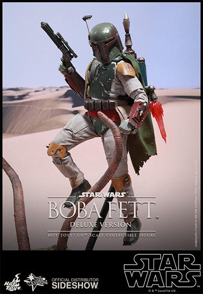 Star Wars Boba Fett Deluxe Version Sixth Scale Figure