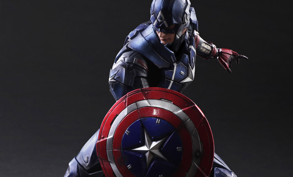 Gallery Feature Image of Captain America Variant Collectible Figure - Click to open image gallery