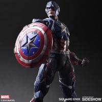 Gallery Image of Captain America Variant Collectible Figure
