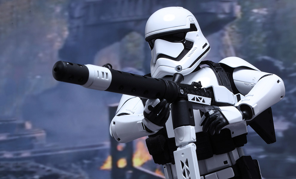 Gallery Feature Image of First Order Heavy Gunner Stormtrooper Sixth Scale Figure - Click to open image gallery