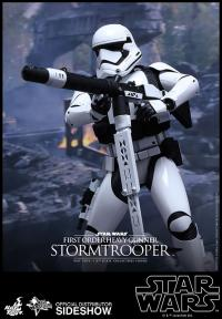 Gallery Image of First Order Heavy Gunner Stormtrooper Sixth Scale Figure